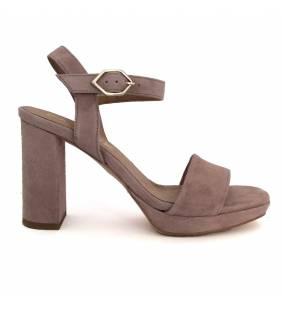 Sandalia piel ante nude 211