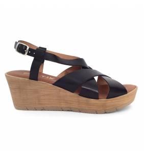 Sandalia piel napa negro 71168