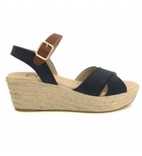 Sandalia textil marino 6562