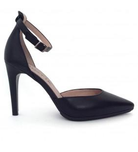 Zapato piel napa negro 368