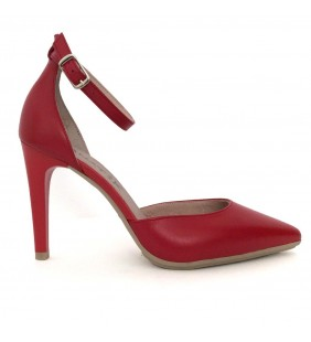 Zapato  piel napa rojo 368