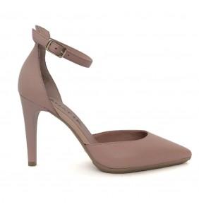 Zapato  piel napa rose nude 368
