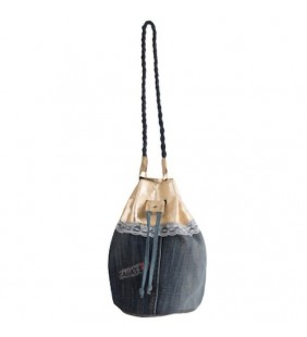 Bolso  saquito denim 19016