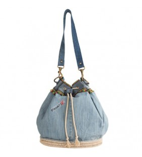 Bolso yute denim 19015